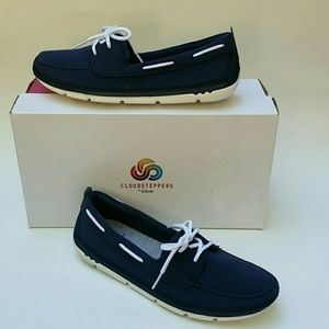 Clarks Cloudsteppers Step Maro Boat Shoes